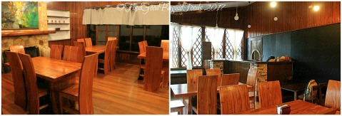 Baguio Decades Restaurant sala and dining room dining areas