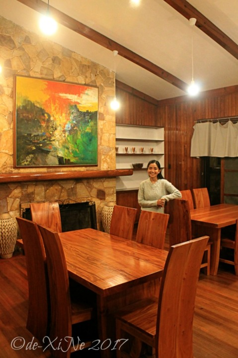Baguio Decades Restaurant living room dining area
