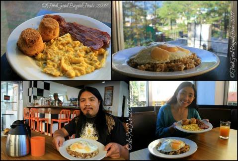 Baguio Ozark Bed and Breakfast breakfast