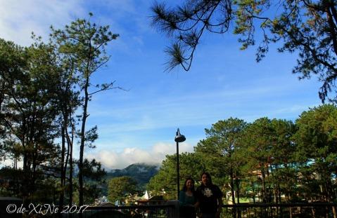 Baguio Ozark Bed and Breakfast rooftop