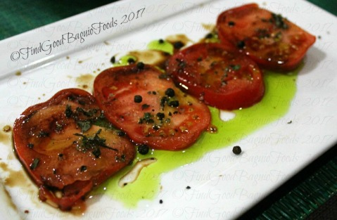 Baguio Chef Didier's Table 2017