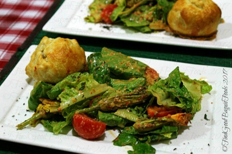 Baguio Chef Didier's Table digestif salad with brie cheese in buttery pastry
