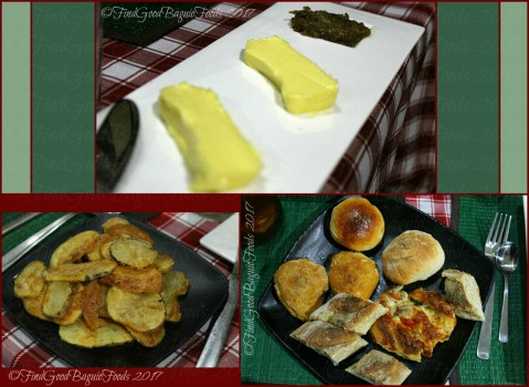 Baguio Chef Didier's Table appetizers and starters potato chips and bread