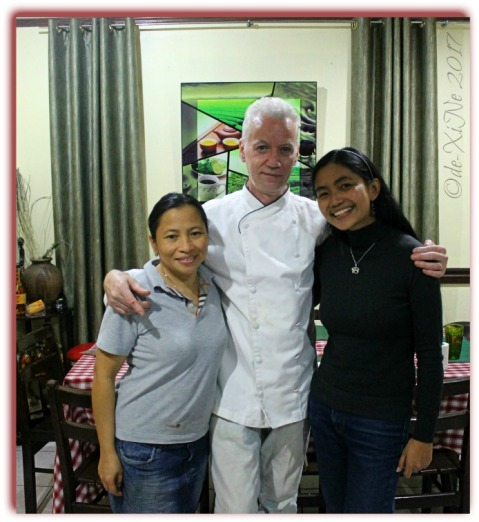 Baguio Chef Didier's Table with Chef and Ms Merna