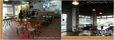 Baguio Mang Ed Bakareta Cafe and Restaurant dining area