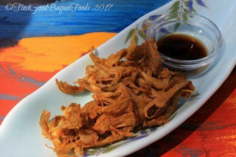 Baguio Lolita Bistro Cafe mushroom fries