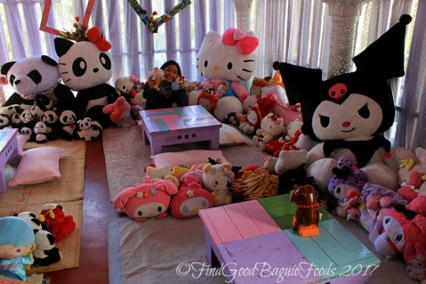 Baguio Lolita Bistro Cafe one with the stuffed toys