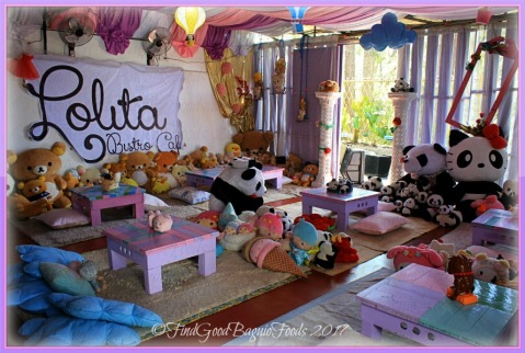 Baguio Lolita Bistro Cafe dining area