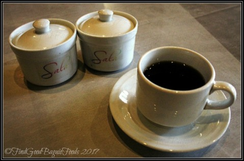 Baguio Sala P20 brewed coffee 2017
