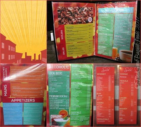 Baguio Sala menu 2017