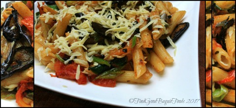 Baguio Yoghurt.com Cafe roasted eggplant in basil pasta 2017