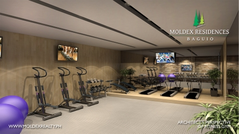 Baguio Moldex Residences fitness gym 2017