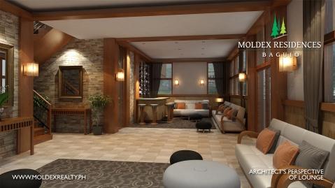 Baguio Moldex Residences lounge 2017