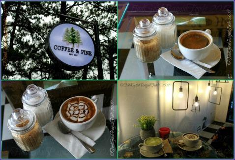 Baguio Coffee & Pine Cafe brewed coffee mochaccino hot choco matcha latte 2017