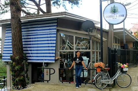 Baguio Coffee & Pine Cafe facade 2017