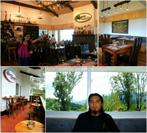 Baguio Vincent's Place Restaurant Cafe Bar dining area 2017