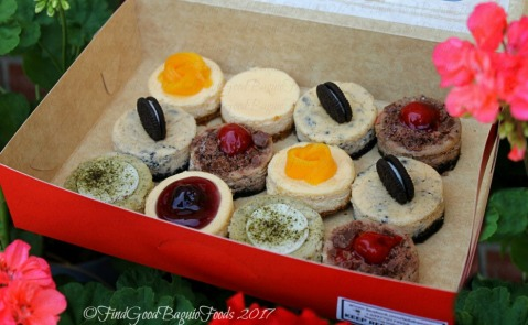 Baguio La Dolce Minis by Kyle mini cheesecakes