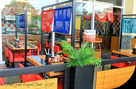 Baguio Ramen Nagi al fresco dining 2017