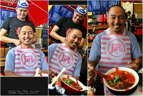 Baguio Ramen Nagi bib for Sir Dean 2017