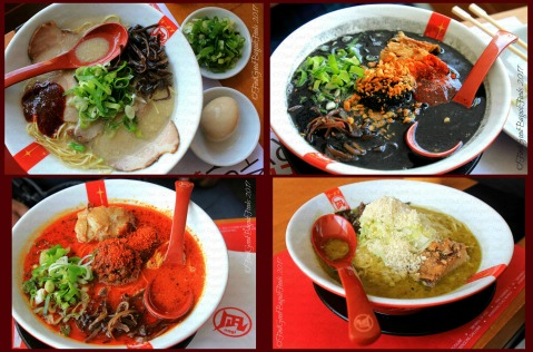 Baguio Ramen Nagi favorite ramen King butao, black king, red king, green king 2017