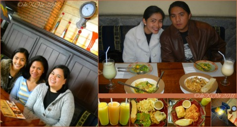 P3 and X+1 mealtimes at Baguio The Old Spaghetti House 2010-2011