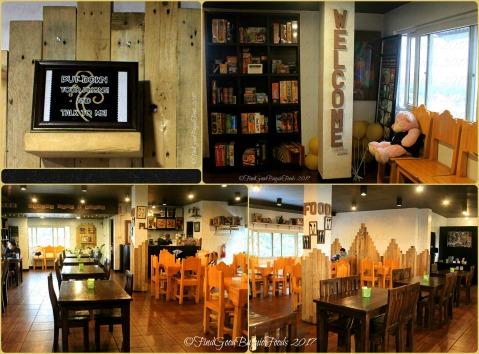Baguio Raduno Cafe and Resto dining area 2017