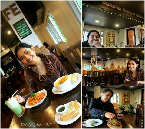 X+1 dining at Baguio Raduno Cafe and Resto 2017