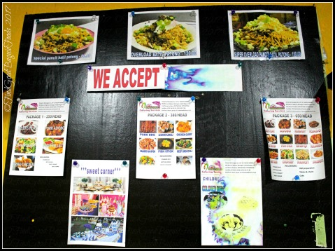 Baguio Ihsay's Pancit Batil Patong and Carinderia menu 2017