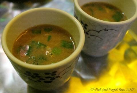 Baguio Moe's Snack Hauz complimentary soup 2017
