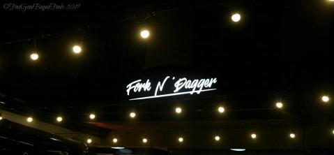 Baguio Fork n' Dagger Restaurant signage 2017