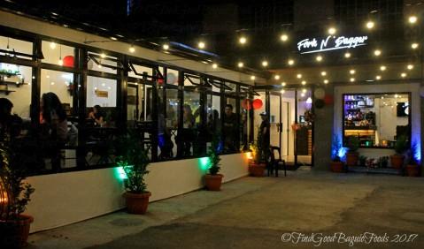 Baguio Fork n' Dagger Restaurant facade 2017