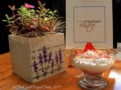 Baguio Peak Garden Bistro eton mess 2017