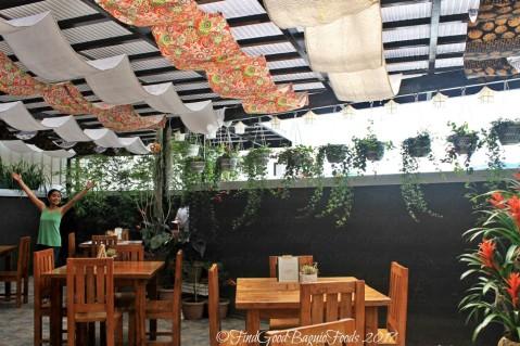 Baguio Peak Garden Bistro dining area 2017