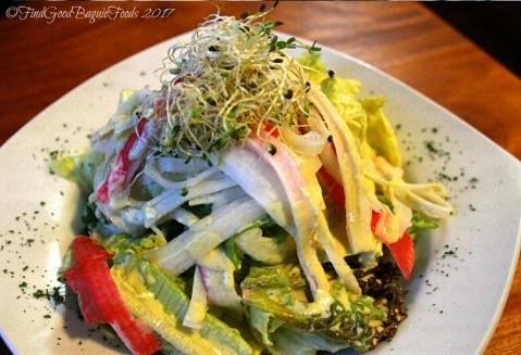 Baguio Veneer Resto Cafe crab salad 2017