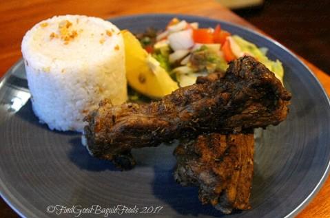 Baguio Veneer Resto Cafe costola pork ribs 2017