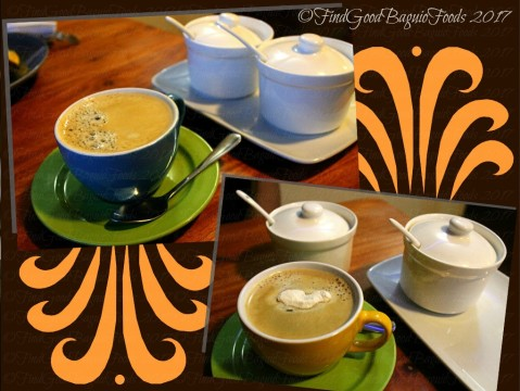 Baguio Veneer Resto Cafe brewed coffee and one refill 2017