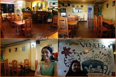 Baguio Veneer Resto Cafe dining area 2017