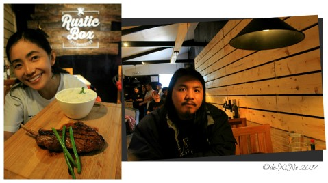 X+1 at Baguio Rustic Box Steak and Wine House 2017