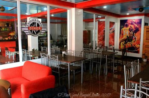 La Trinidad metro Baguio Exousia Chari Diner dining area 2017