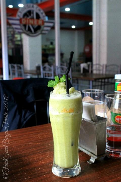 La Trinidad metro Baguio Exousia Chari Diner banana mint smoothie 2017