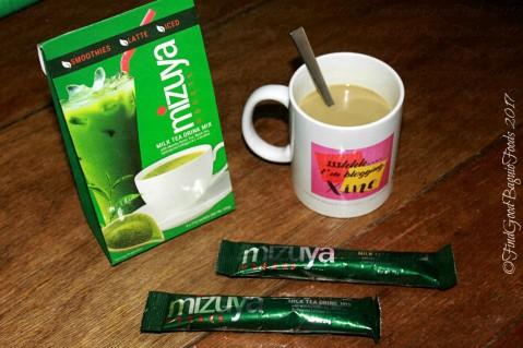 Baguio Happy Dazzling Main Mizuya matcha milk tea