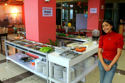Baguio Korean Manor Buffet samgyeopsal and shabu shabu ingredients 2017