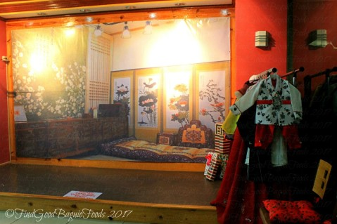 Baguio Korean Manor Buffet costumes for Korean photo shoot 2017