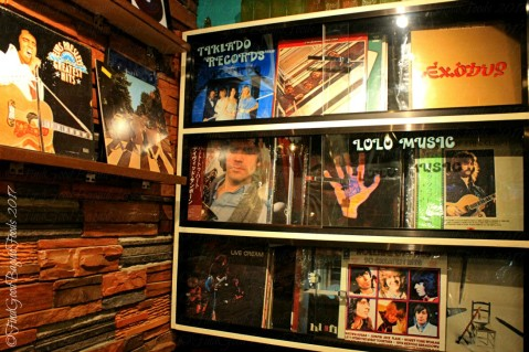 Records/lolo music at Baguio Plakafe at Le Fern Hotel I 2017