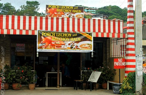 Baguio Lechon and Batchoy Haus facade 2017