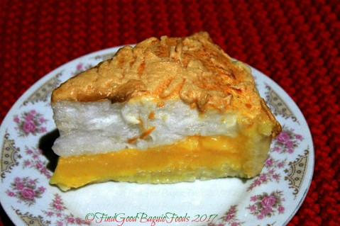 Baguio Aunt Hazel's Kitchen lemon meringue pie 2017