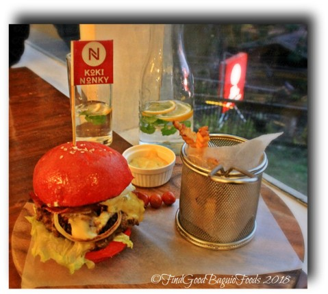 Baguio Koki Nonky Nonky's beef burger 2018