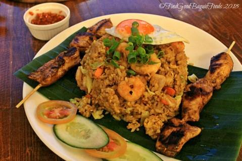 Baguio Koki Nonky Indonesian nasi goreng 2018