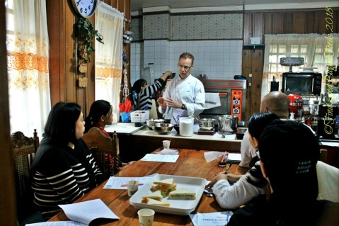 Introduction to macarons Baguio Baking Workshop with Chef Didier 2018