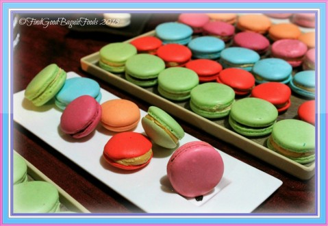 macarons made by seminar participants at Baguio Baking Workshop with Chef Didier 2018